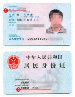 匈牙利签证身份证材料模板